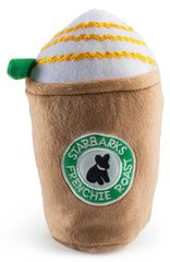 Starbarks Carmel Frenchie Roast Plush Toy by Haute Diggity Dog