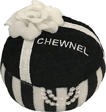 Chewnel Jewelry Box Plush Toy by Dog Diggin Designs