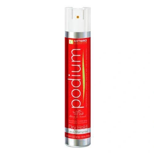 Podium Dry Hold Hairspray 12.34oz