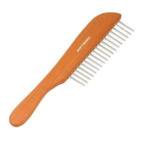 Wooden De-matting Hand Comb (P223)