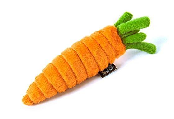 Plush Carrot by P.L.A.Y