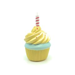 Squeaky Birthday Cupcake by FAIRE