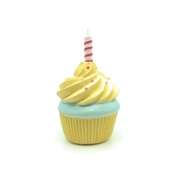 Squeaky Birthday Cupcake by Lanco