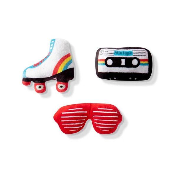 Rockin' the 80's Mini Toy 3 pack by Fringe Studio