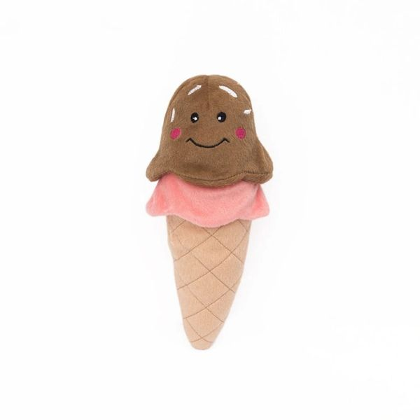 NomNomz Ice Cream Plush Toy by Zippy Paws