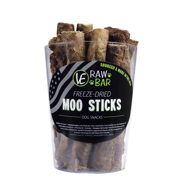 Freeze-Dried Moo Sticks by VE Raw Bar