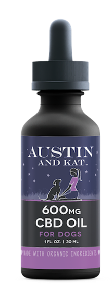 600mg Extra Strength CBD Oils by Austin and Kat