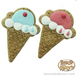Birthday Collection Ice Cream Cone Gourmet Cookies by Bosco & Roxy's