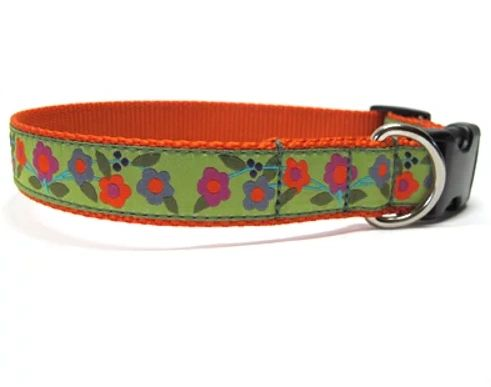 "XL Martingale Collar in ""Summervine"" by A Bee's Hive"