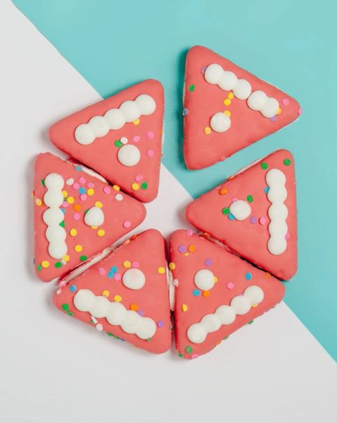 Shareable Birthday Cake Cookie by Bosco & Roxy's