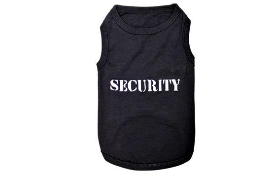 """Security"" Black Shirt by Parisian Pet"
