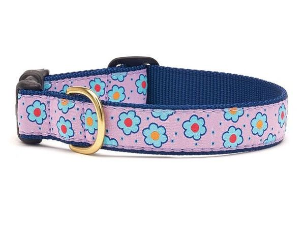 Flower Fields Dog Collars & Lead by Up Country Inc