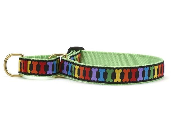Rainbones Martingale Dog Collars & Lead by Up Country Inc