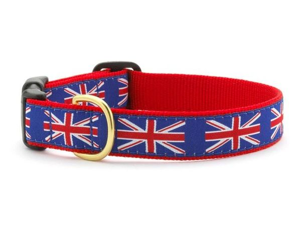 Union Jack Dog Collar by Up Country Inc