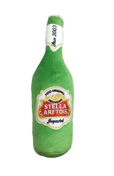 Stella Arftois Beer Bottle Plush Toy by Haute Diggity Dog