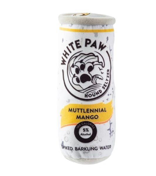 White Paw Muttlennial Mango Plush Toy by Haute Diggity Dog