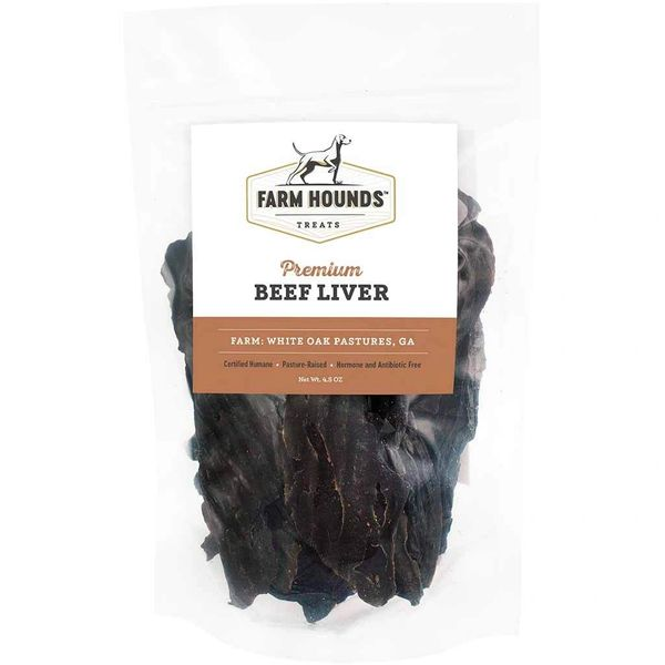 Beef Liver Jerky by Farm Hounds