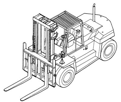 Cat DP90 Diesel Forklift Engine Parts
