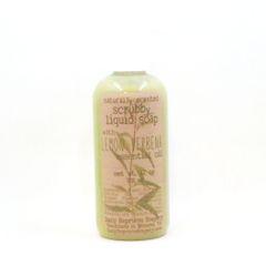 Lemon Verbena Liquid Scrubby Soap (12 oz)