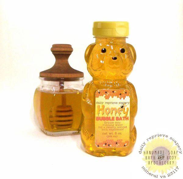 Honey Bear Bubble Bath (8 oz)