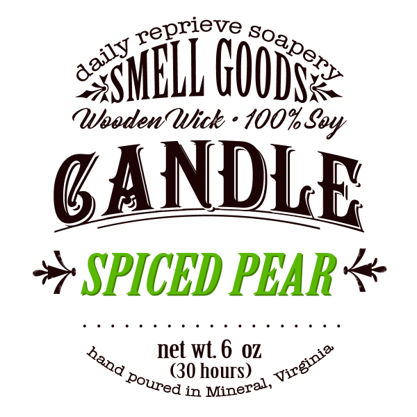 Spiced Pear Candle