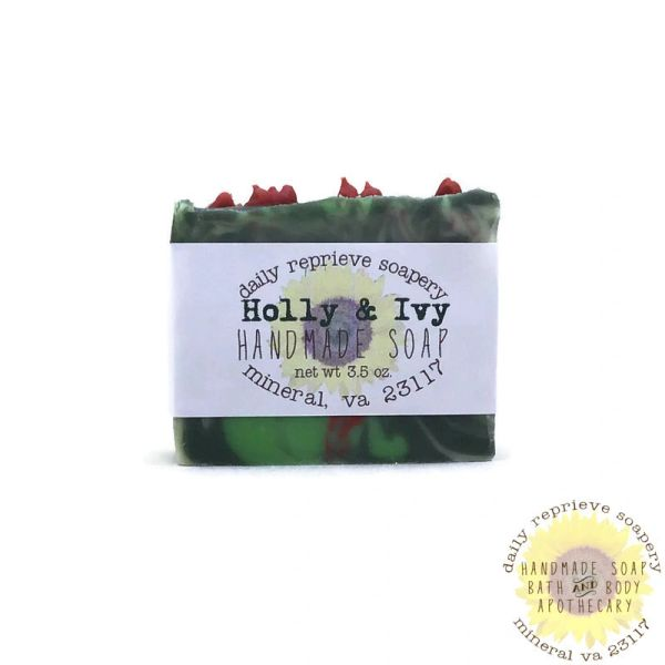Holly and Ivy Goat Milk Soap