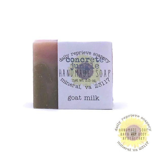 Concrete Jungle Goat Milk Soap