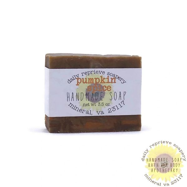 Pumpkin Spice Goat Milk Soap