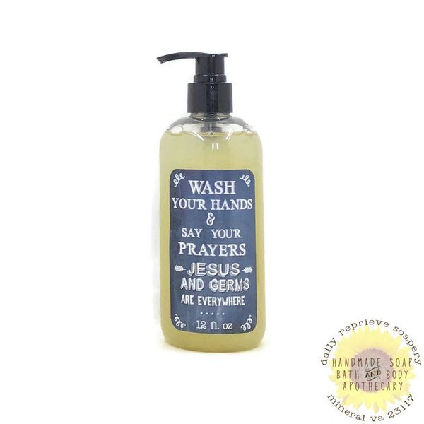Gold, Frankincense & Myrrh Liquid Soap (12 oz)