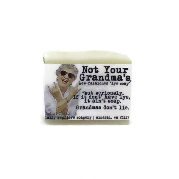 Not Your Grandma's Lye Soap