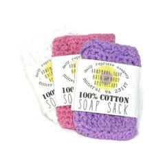 Cotton Soap Sack
