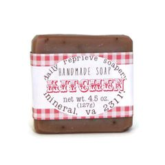 Kitchen Scrubby Bar Soap