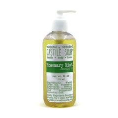 Rosemary Mint Castile Soap (12 oz)