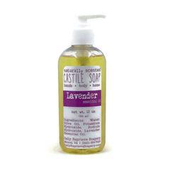 Lavender Castile Soap (12 oz)