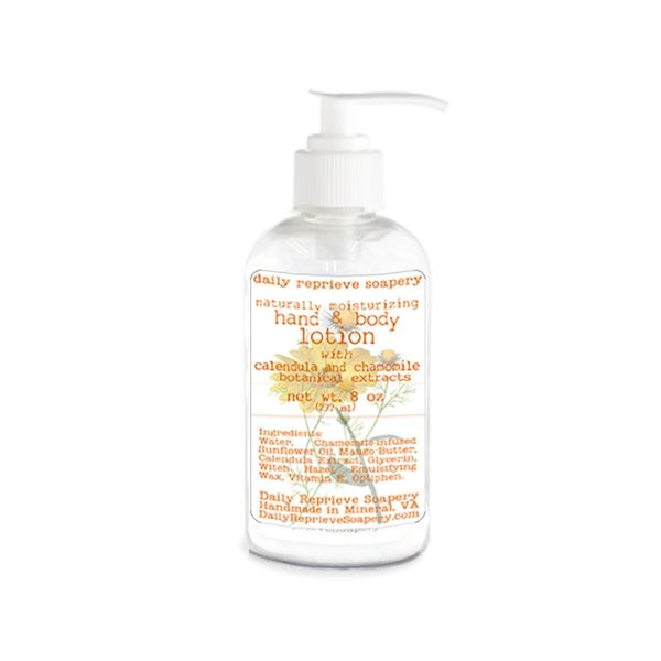 Calendula & Chamomile Hand and Body Lotion (8 oz)