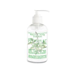 Peppermint Hand and Body Lotion (8 oz)