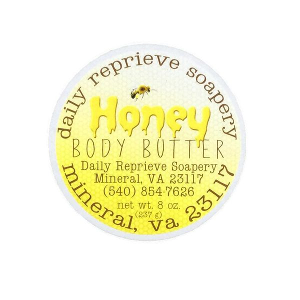 Honey Body Butter (8 oz)