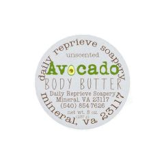 Avocado Body Butter (8 oz)