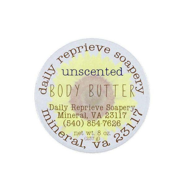 Sunflower Body Butter - Unscented (8 oz)