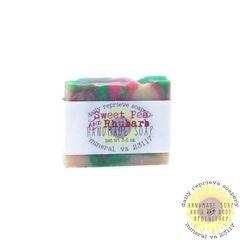 Sweet Pea and Rhubarb Soap