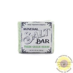 Fresh Green Herbs SALT BAR