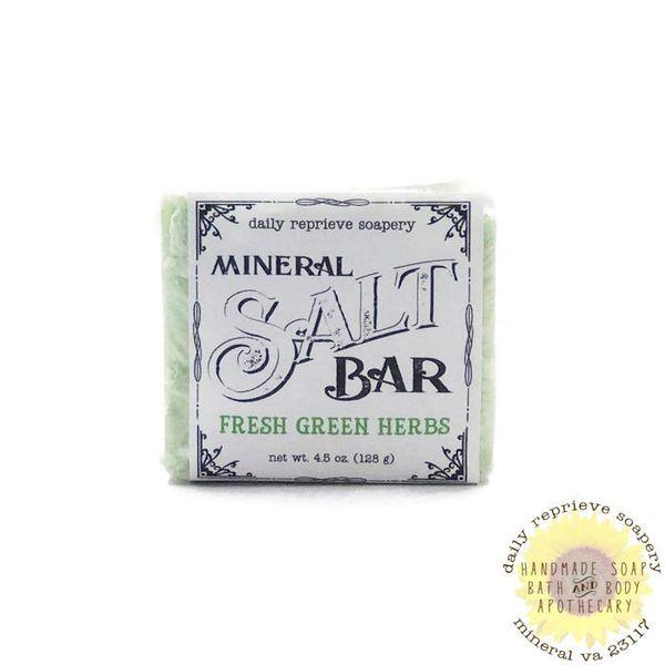 Fresh Green Herbs SALT BAR