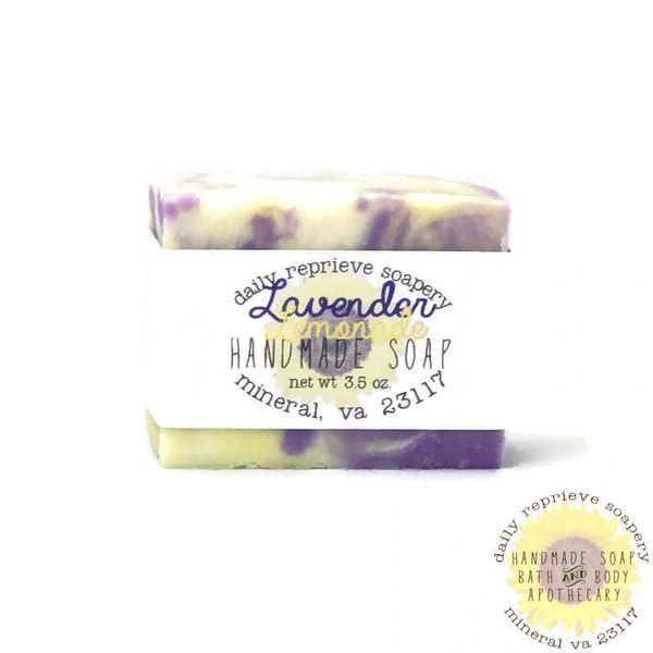 Lavender Lemonade Goat Milk Soap