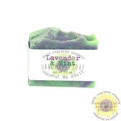 Lavender Mint Goat Milk Soap