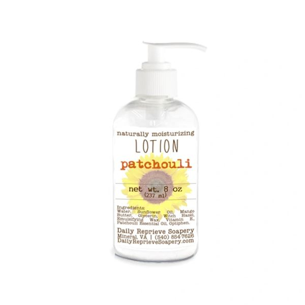 Patchouli Hand and Body Lotion (8 oz)