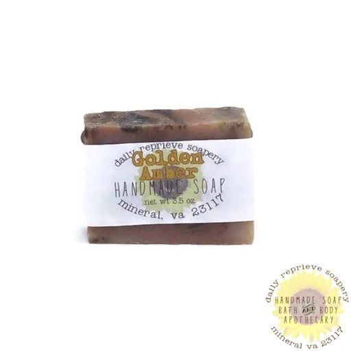 Golden Amber Soap