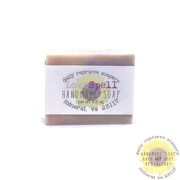 LoveSpell Goat Milk Soap