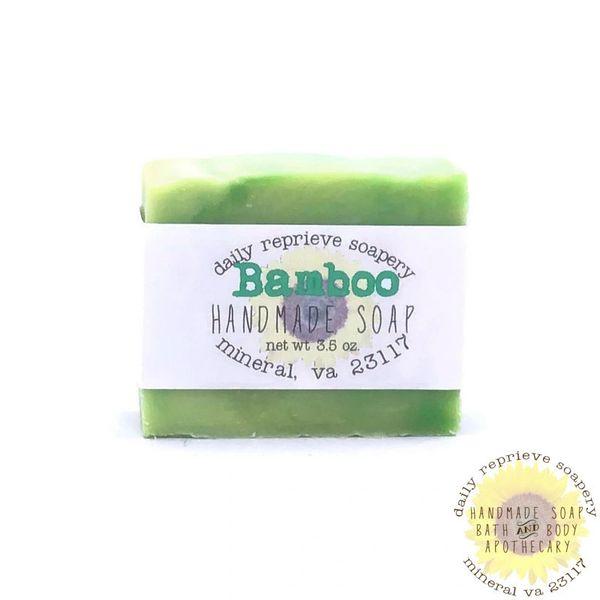 Bamboo Goat Milk Soap