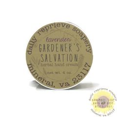 Gardener's Salvation Balm - Lavender (4 oz)