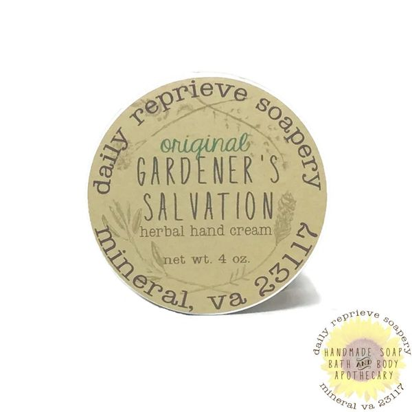 Gardener's Salvation Balm - Original (4 oz)